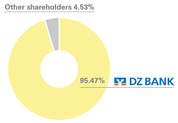 DVB's shareholder structure